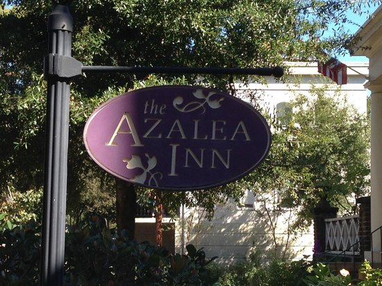 "Azalea Inn & Villas: The sign that says ""you're Home"""