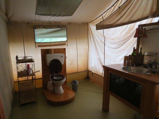 Porini Amboseli Camp: Salle de bain