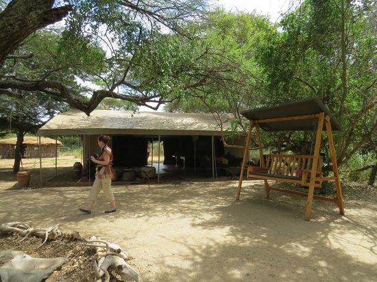 Porini Amboseli Camp: Accueil, salle à manger...