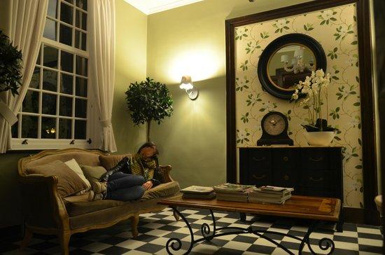 Hotel Egmond : Salón