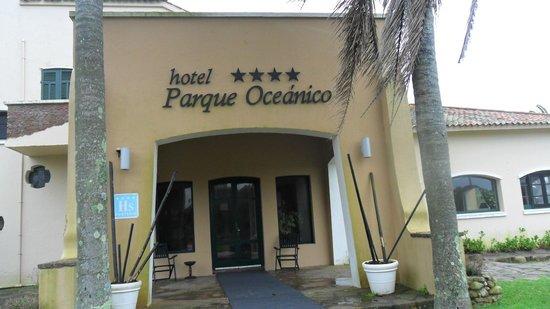 ENTRADA DEL HOTEL PARQUE OCEANICO