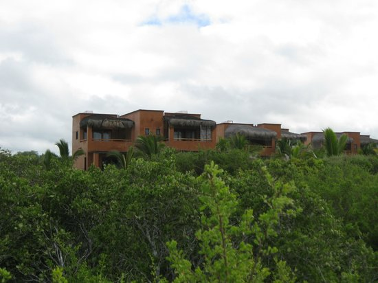 Rancho Pescadero : View of the resort from the beach