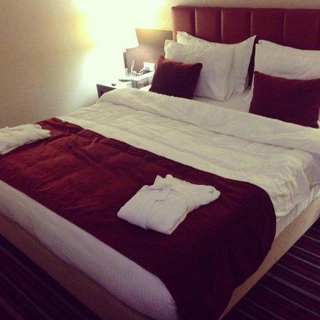 Aqua Fantasy Aquapark Hotel & SPA: Bed