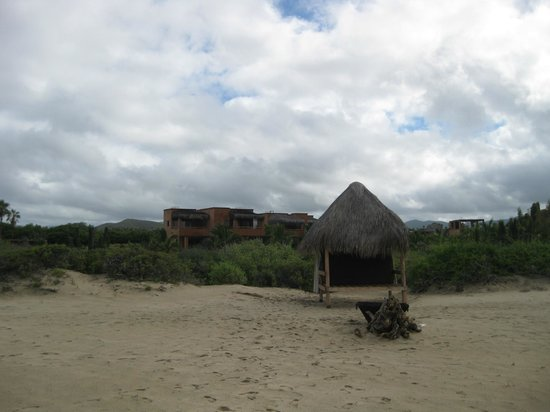 Rancho Pescadero : View of resort from the beach