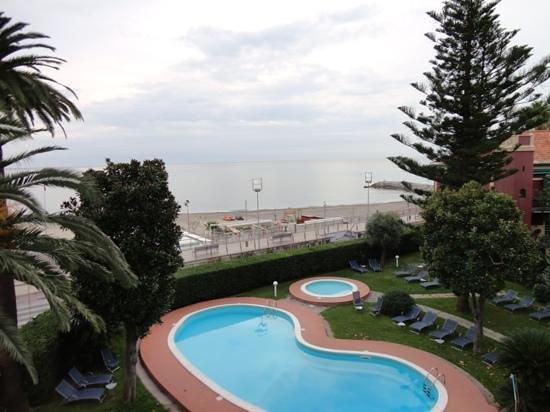 Hotel Garden Lido: photo from my room balcony.