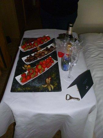 Hilton Düsseldorf: Romantikpaket