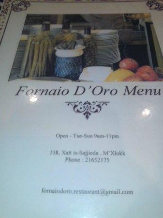 Fornaio D'Oro