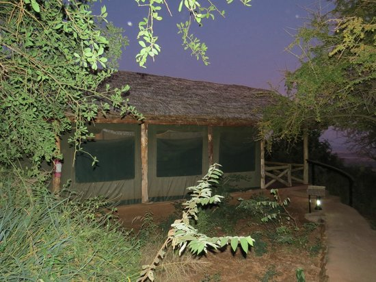 Kirurumu Manyara Lodge: Chambre