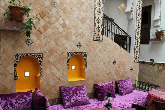 Riad Dar Hanae: Entrance area