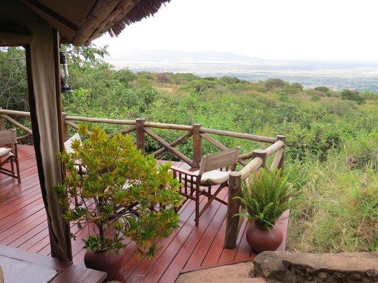 Kirurumu Manyara Lodge: Vue de la terrasse