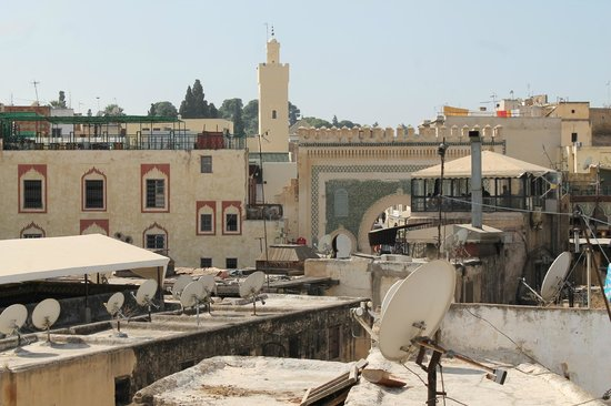 Riad Dar Hanae: View from the terasse at Bab Bou Jaloud