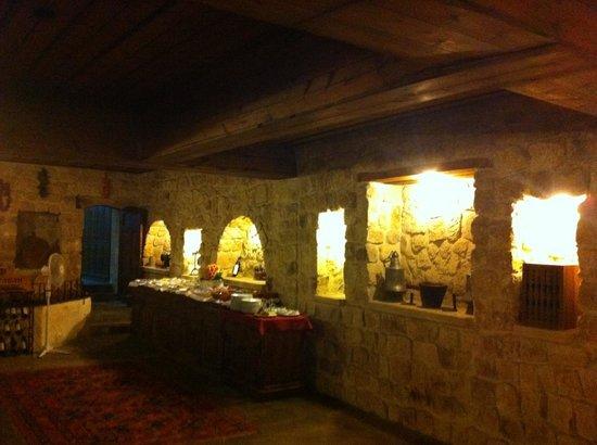 Selcuklu Evi: ristorante interno