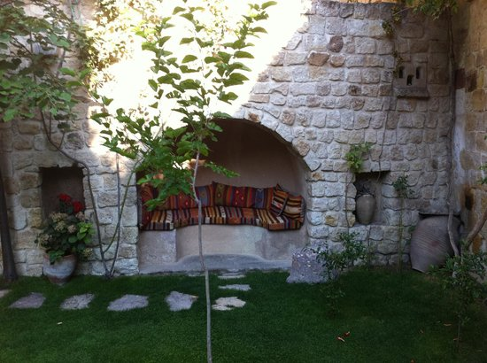 Selcuklu Evi: giardino