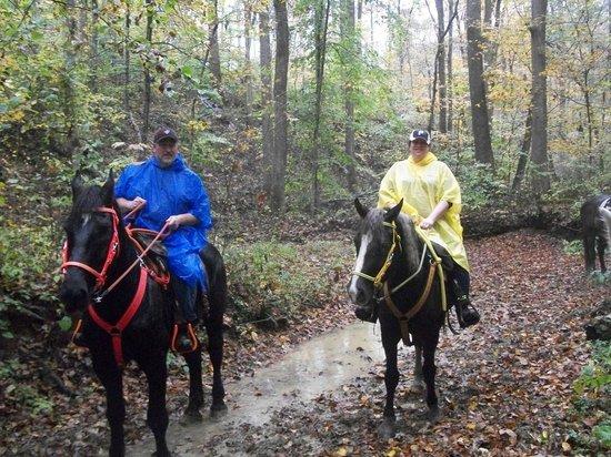 Blue Moon Acres: Our rainy trail ride