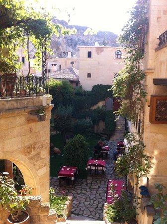 Selcuklu Evi: vista dalla terrazza