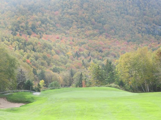 Highlands Links Golf Course : Fall Colors