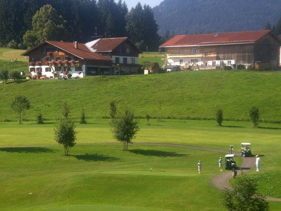 Sonnenalp Resort : Einer der Golfplätze