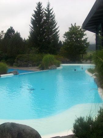 Sonnenalp Resort : Der warme Innen/Außen-Pool