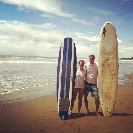 Uvita, Costa Rica: our surf lessons
