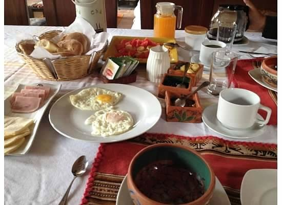 Urubamba Villas: Breakfast!