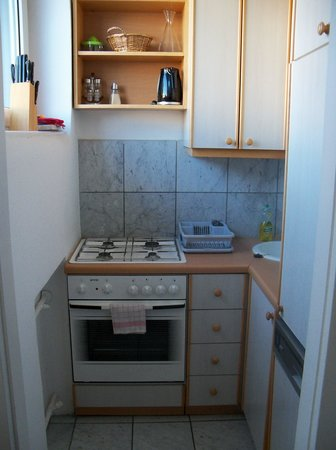 Central Apartments Vienna : What we got-the kitchen