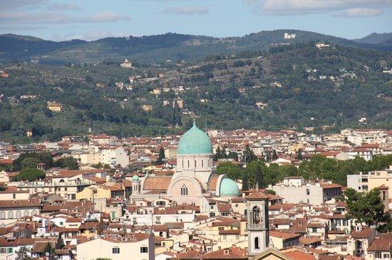 Basilica San Miniato al Monte : vista da cidade