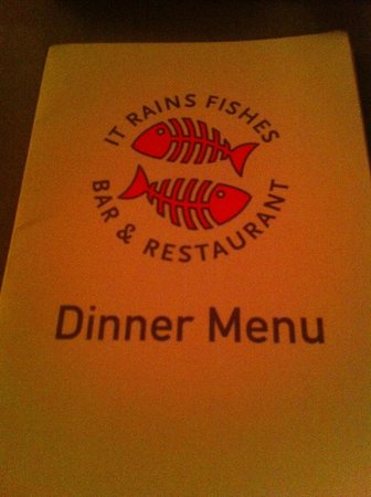 It Rains Fishes : The inside is even better