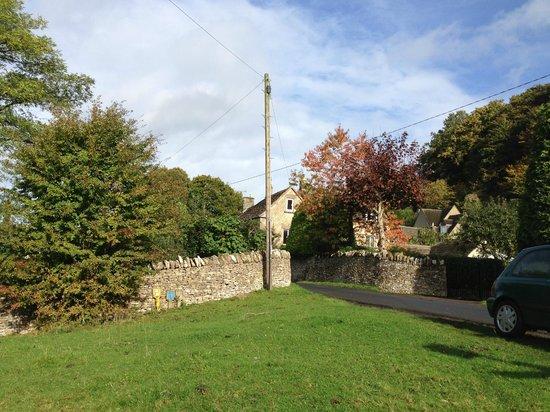 The Amberley Inn: a view of Amberley