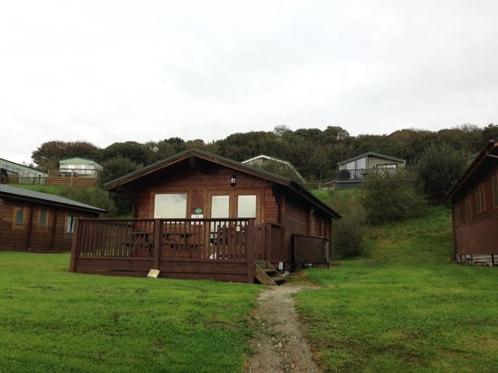 Parkdean - White Acres Holiday Park: Front of the lodge
