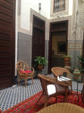 Riad Dar Cordoba : The beautiful details of the Riad