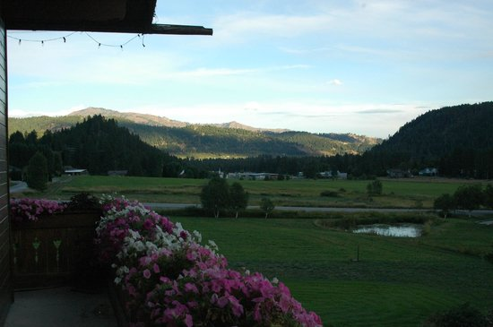 Abendblume: View from the deck.
