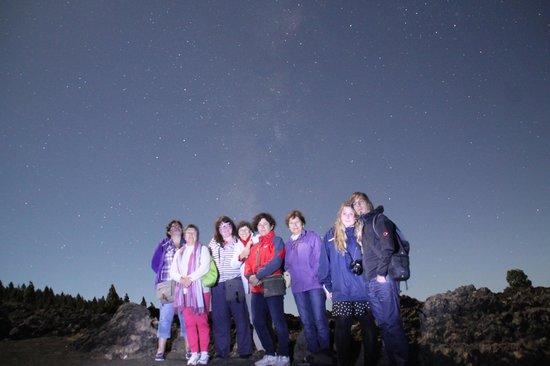 Astro La Palma: fabulous night star gazing with Ana@astrolapalma.