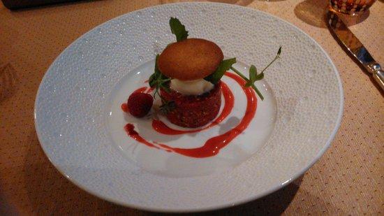 Alpenroyal Gourmet: wagyu beef tartare