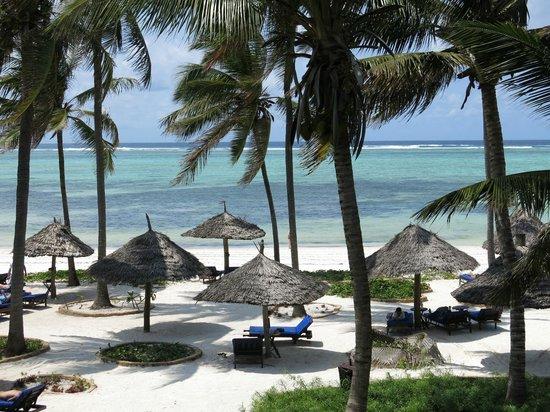 Breezes Beach Club & Spa, Zanzibar: View from our second floor room
