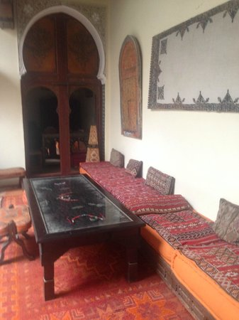 Ryad Bahia: The interior of the Riad