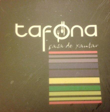 Restaurante A Tafona: tarjeta del restaurante