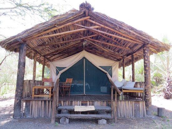 Kisima Ngeda Tented Camp: Chambre