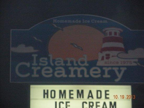 Island Creamery : Best Ice Vream