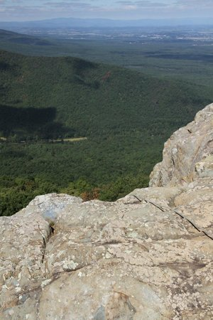 Raven's Roost Overlook : The edge of the cliff