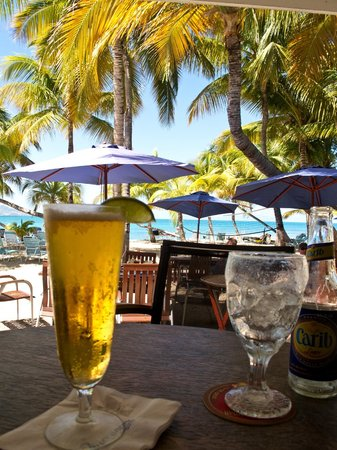 The Mermaid: cold beers with a view