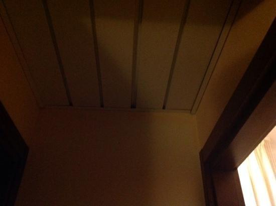 Hotel Agli Artisti: soffitto del disimpegno