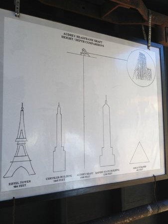 Audrey Headframe Park: Loved this height comparison chart