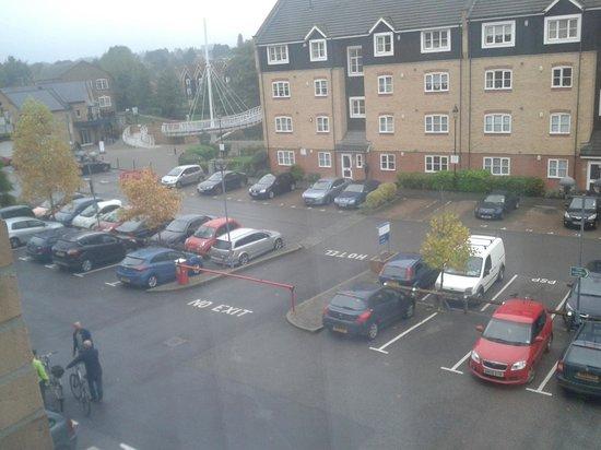 Holiday Inn Express Hemel Hempstead: View from the window.