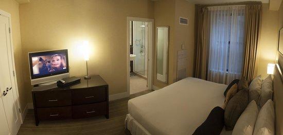 Raffaello Hotel: The bedroom of suite 501
