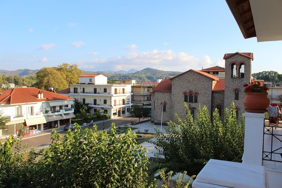 Hotel Pelops: View from room