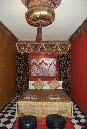 Riad Aguaviva: Sultan Room