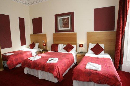 Clifton Hotel: Quads