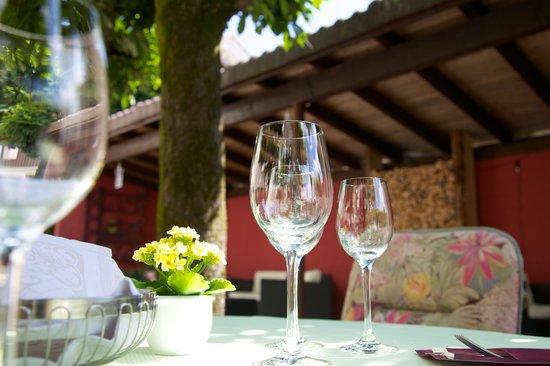 Hotel Landgasthof Rosslipost: Garten