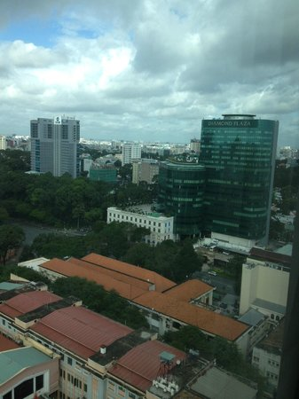 InterContinental Saigon Hotel: View looking downtown