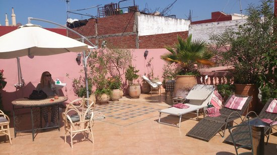 Christina's House : roof terrace